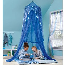 Kid's Starry Night Hideaway Canopy with LED Lights