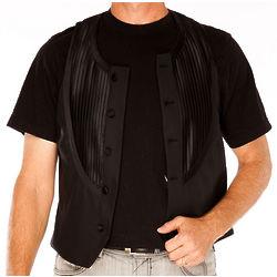 Emporio Armani Black Virgin Wool Vest