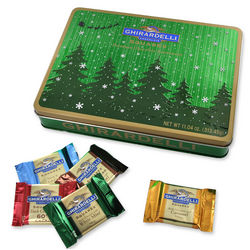 Starry Night Chocolate Rectangle Tin