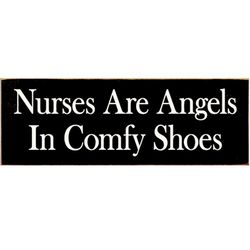 Nurses are Angels Sign