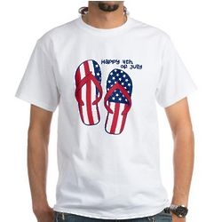 Flip Flop 4th of July Shirt