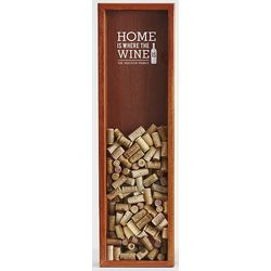 Personalized Wine Cork Wooden Bank