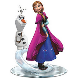 Disney Frozen Do You Want To Build a Snowman Anna & Olaf Figurine