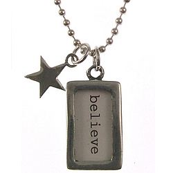 Believe and Wish Necklace