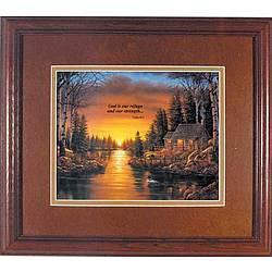 Nature's Refuge Framed Print