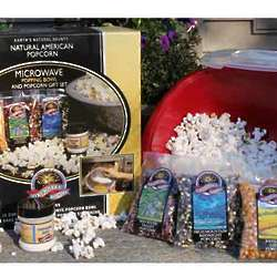 Popcorn Microwave Gift Bowl Set