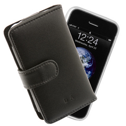 Personalized Leather iTouch Case