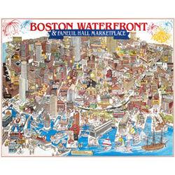 Boston Waterfront Jigsaw Puzzle