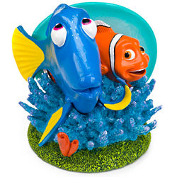 "6"" Dory & Marlin Aquarium Ornament"