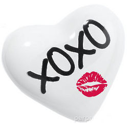 XOXO Heart Paperweight