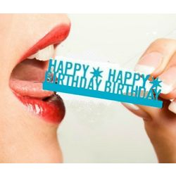 Eat Your Words Edible Sugar Phrase