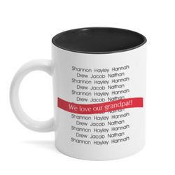 Loved Ones Personalized Ceramic Mug