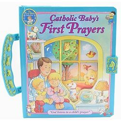 Catholic Baby's First Prayers Handle Board Book