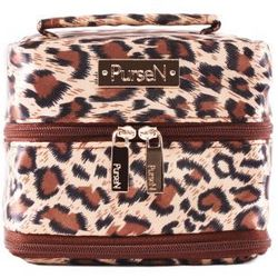 Origami-Inspired Leopard Print Travel Jewelry Organizer