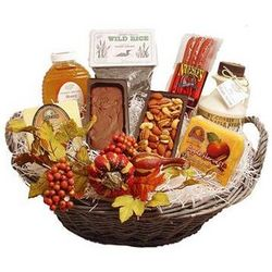 Holiday Harvest Gift Basket