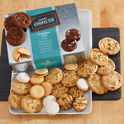 Assorted Cookies Gift Tin