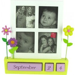 Thanks for Being You Floral Design Perpetual Calendar Frame