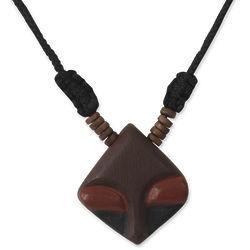 Men's Danjuma Wood Pendant