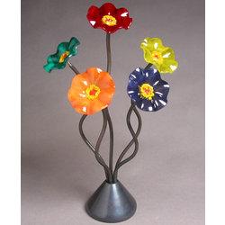 Island Glass Flower Bouquet