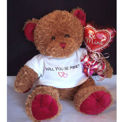 Will You Be Mine Valentine Bear