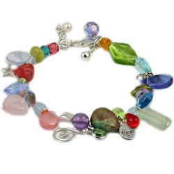 Best Friend Forever Rainbow Bracelet
