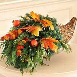 Fresh Thanksgiving Cornucopia