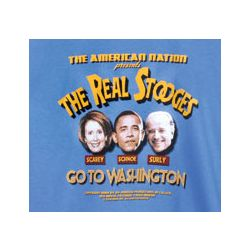 """The Real Stooges Go to Washington"" T-Shirt"