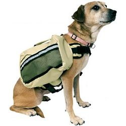 Adjustable Nylon Dog Back Pack