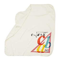 Pythagorean Theorem Swaddling Blanket