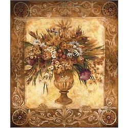 Tuscan Urns Tapestry