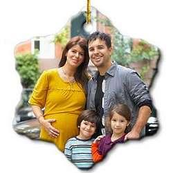 Design Your Own Photo Snowflake Ornament
