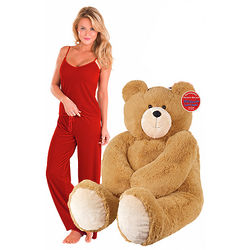 Big Hunka Love Bear and Ruby Velour Lounge Set
