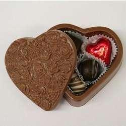 Valentine Chocolate Heart Box
