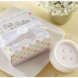 Cute as a Button Button Soap Favors