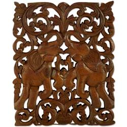 Elephantine Games Teak Relief Panel