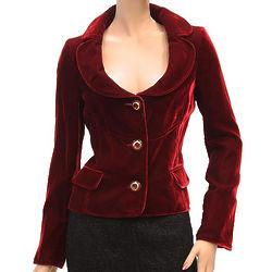 Women's Dolce & Gabbana Red Blazer Jacket