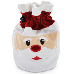 Jolly Santa Bag with Chocolate Squares