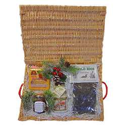 Wisconsin Gourmet Holiday Gift Basket