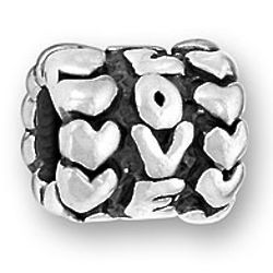 Sterling Silver Love Message Bead