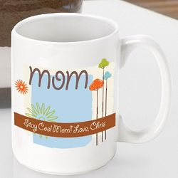 Nature's Song Personalized Mother's Day Coffee Mug