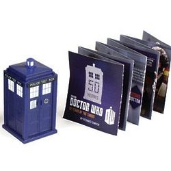 Doctor Who Book and Tardis Set