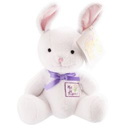 'He Is Risen' Plush Easter Rabbit Toy