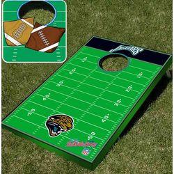 Jacksonville Jaguars Tailgate Toss Cornhole Beanbag Game