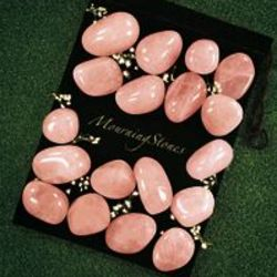 Mourning Stones in Rose Quartz