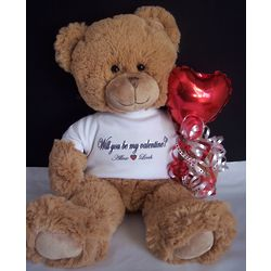 Be Mine Personalized Valentine Bear