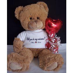 Be Mine Personalized Valentine Bear