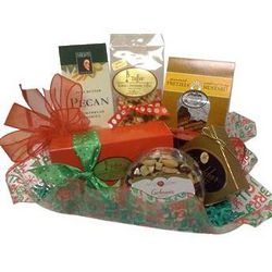 Holiday Snacks Gourmet Gift Basket