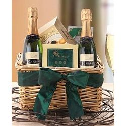 Champagne and Caviar Celebration Gift Basket