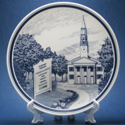 Personalized Church Event Plate