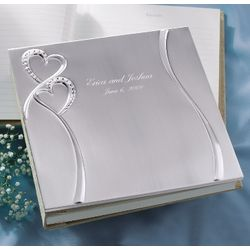 Twin Hearts Guest Book